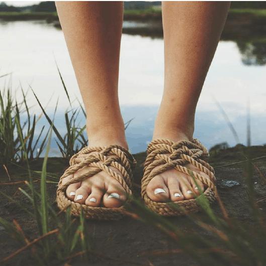 Corda Rope Sandals