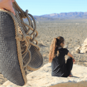Rope Sandals for Hikers