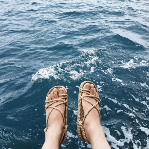 comfortable unique rope sandals